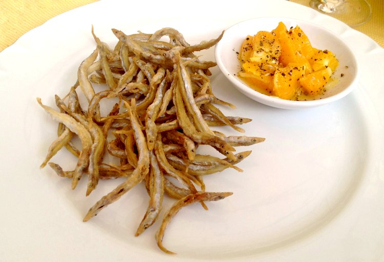 Image of It's awesome with fried whitebait.