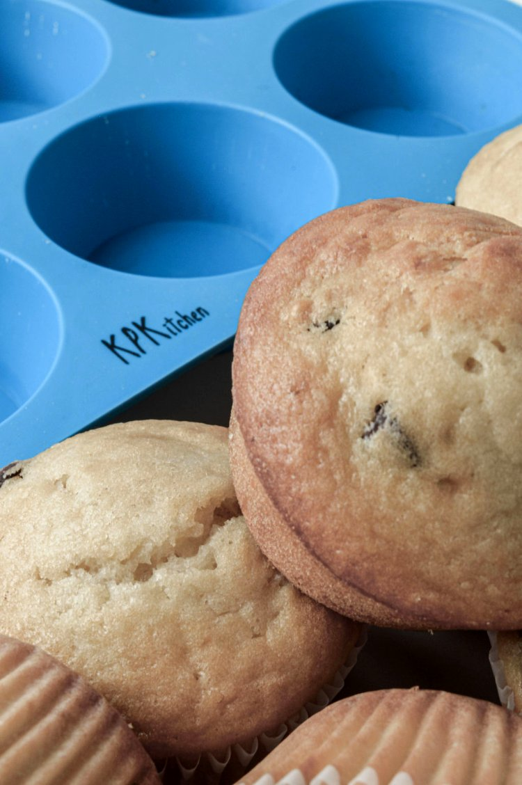 Image of Enjoy your delicious Chocolate Chip Muffins with your loved ones!