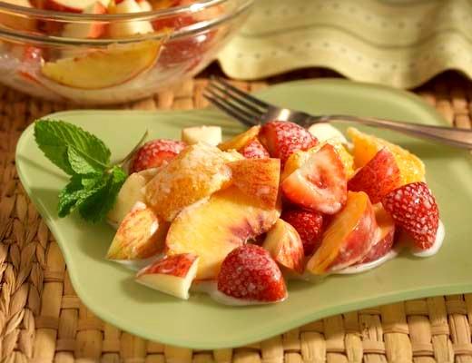 Image of Gingered Fruit Salad