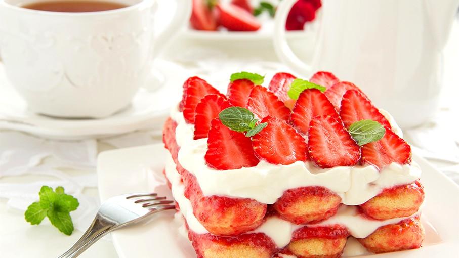 Image of Erdbeer Tiramisu