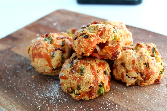 Image of Infused Cheddar Bacon Scones