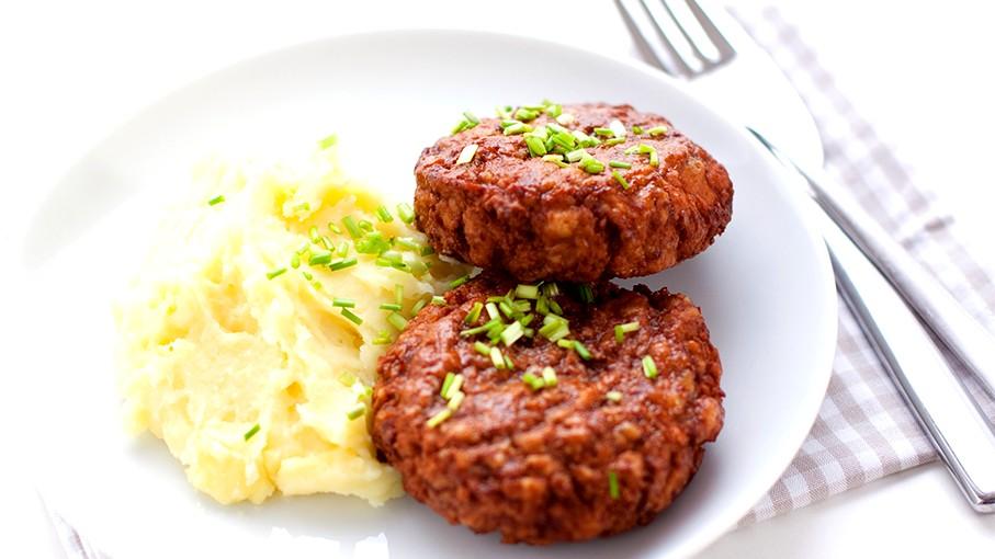Image of Buletten mit Kartoffelbrei