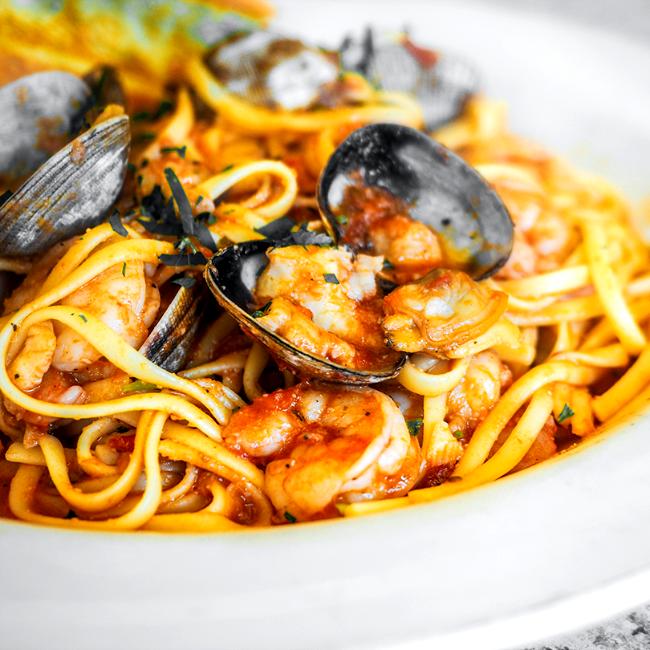 Image of Linguine Scoglio (Seafood Pasta)