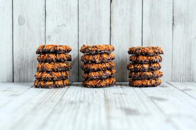 Image of No-Bake Girl Scout Cookie Edibles