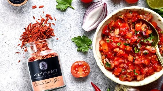 Image of Selbstgemachte orientalische Salsa