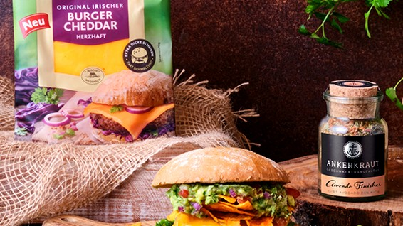 Image of Sommerlicher Avocado-Burger