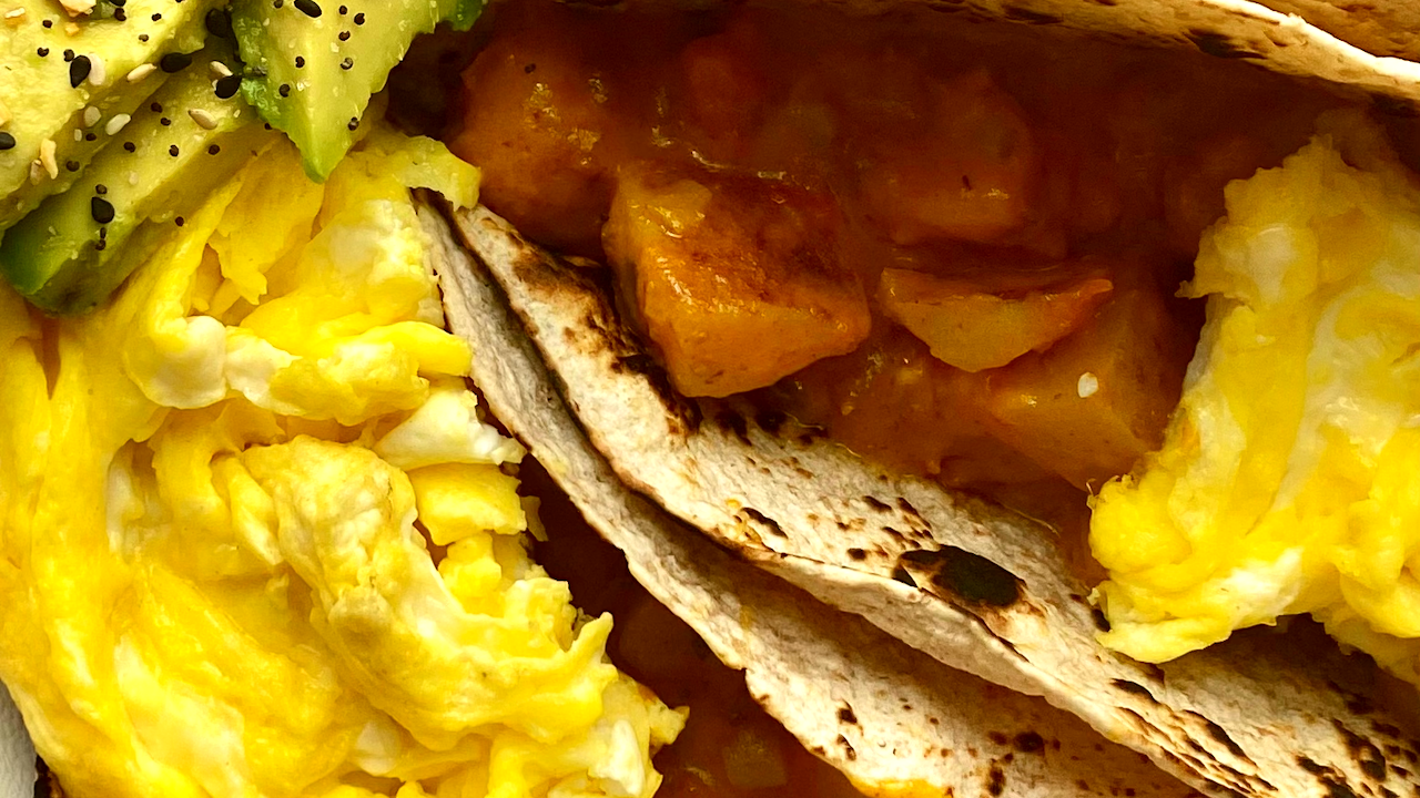 Image of Loaded Potatoes Breakfast Tacos