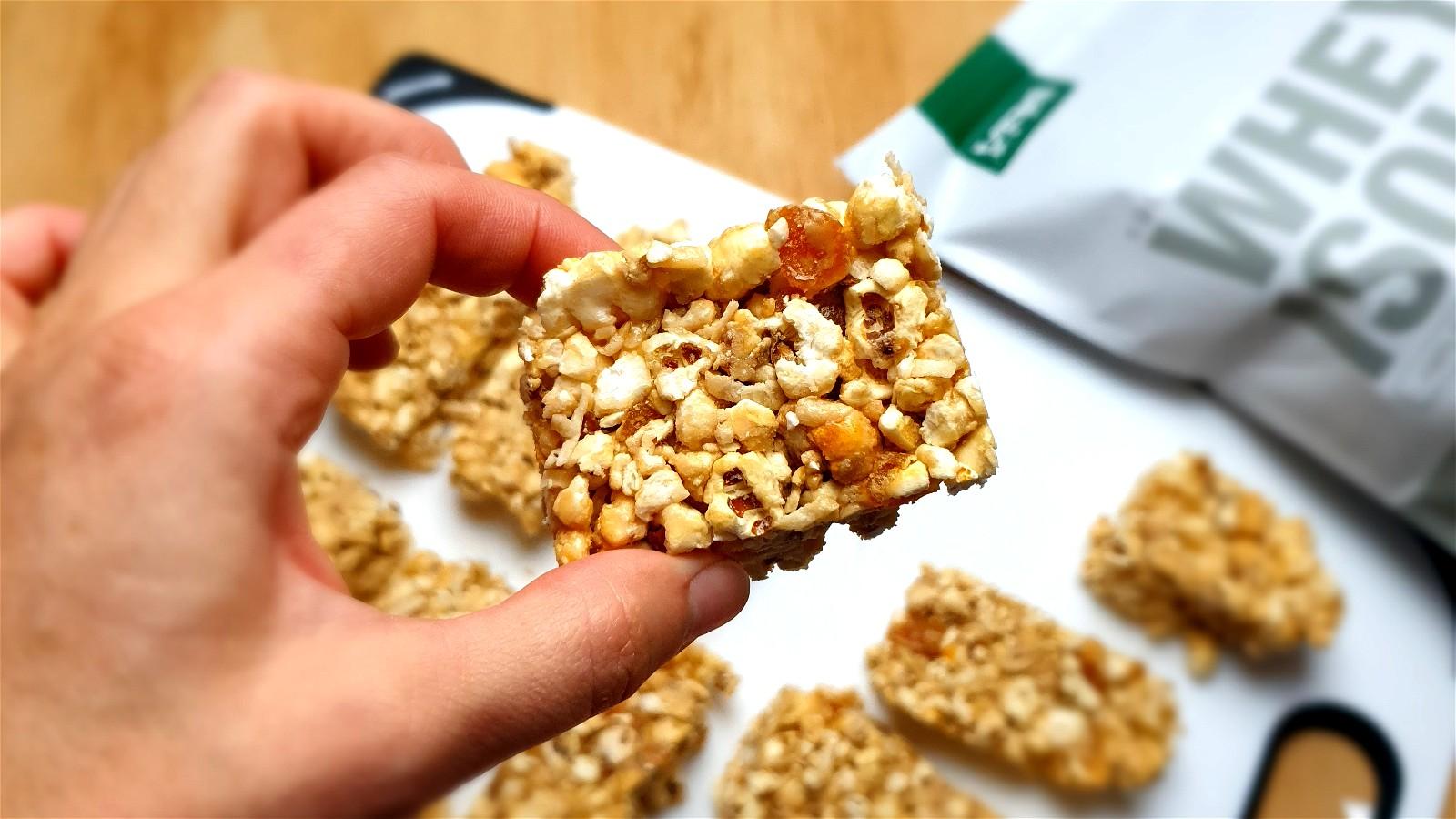 Image of Honey Popcorn Slice