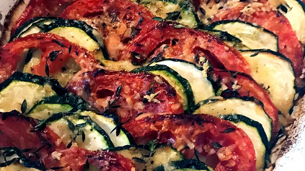 Image of Zucchini Tomato Gratin