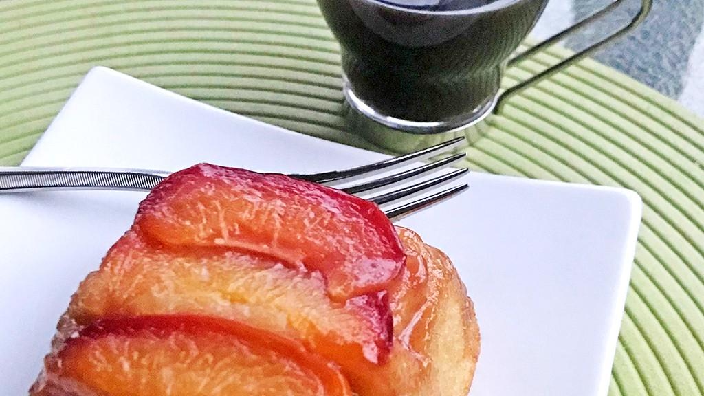 Image of Nectarine Upside Down Cakes