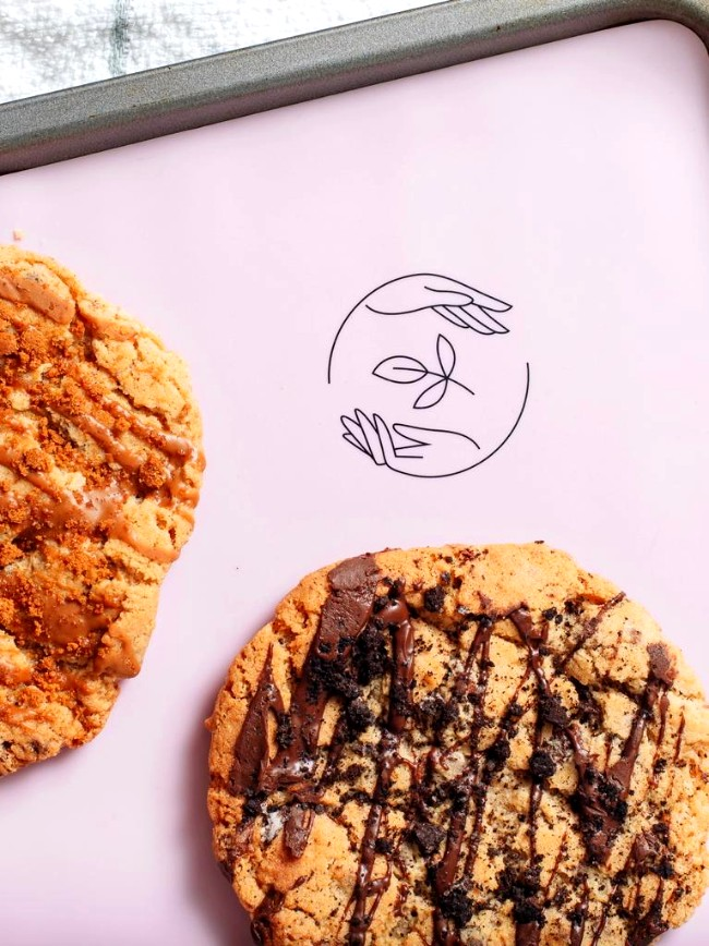 Image of Chocolate Chip & Almond Butter Cookies