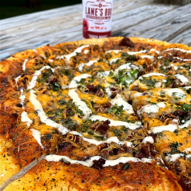 Image of Sweet BBQ Pizza Recipe