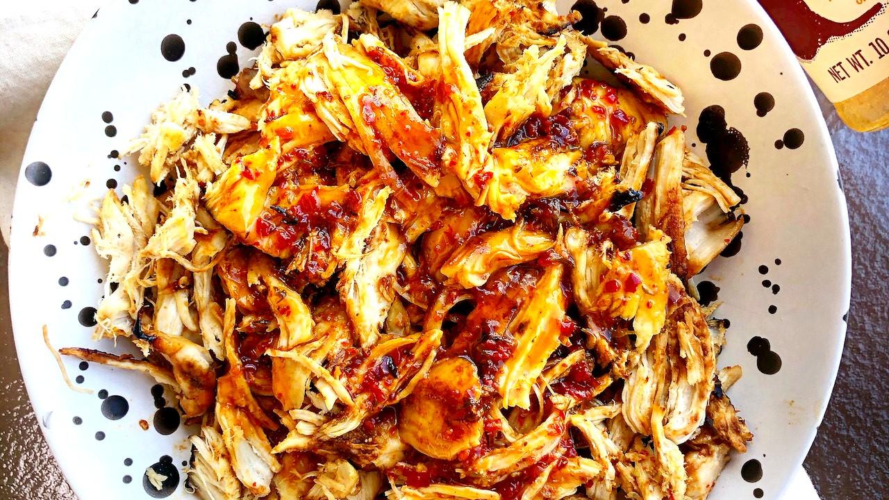 Image of Honey Aleppo Shredded Chicken