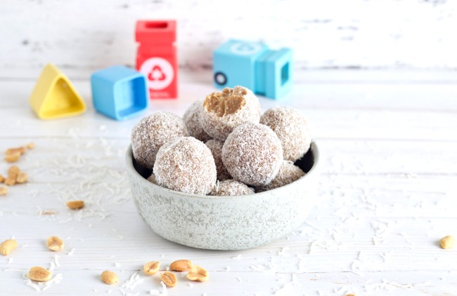 Image of 4-Ingredient Peanut Butter Bliss Balls