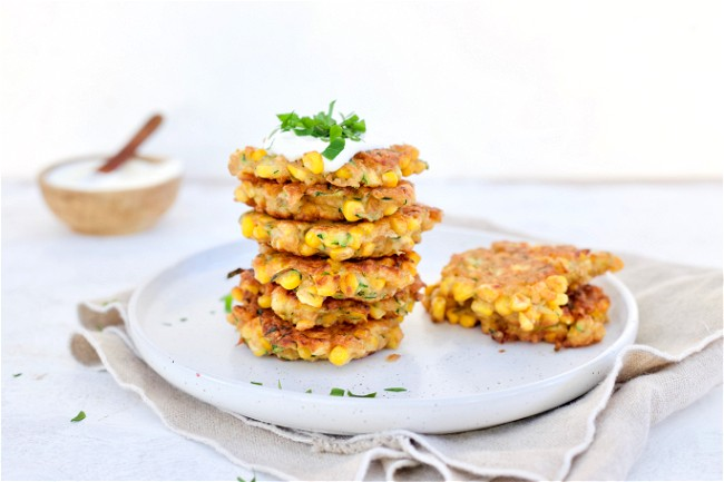 Image of Easy Wholemeal Corn Fritters
