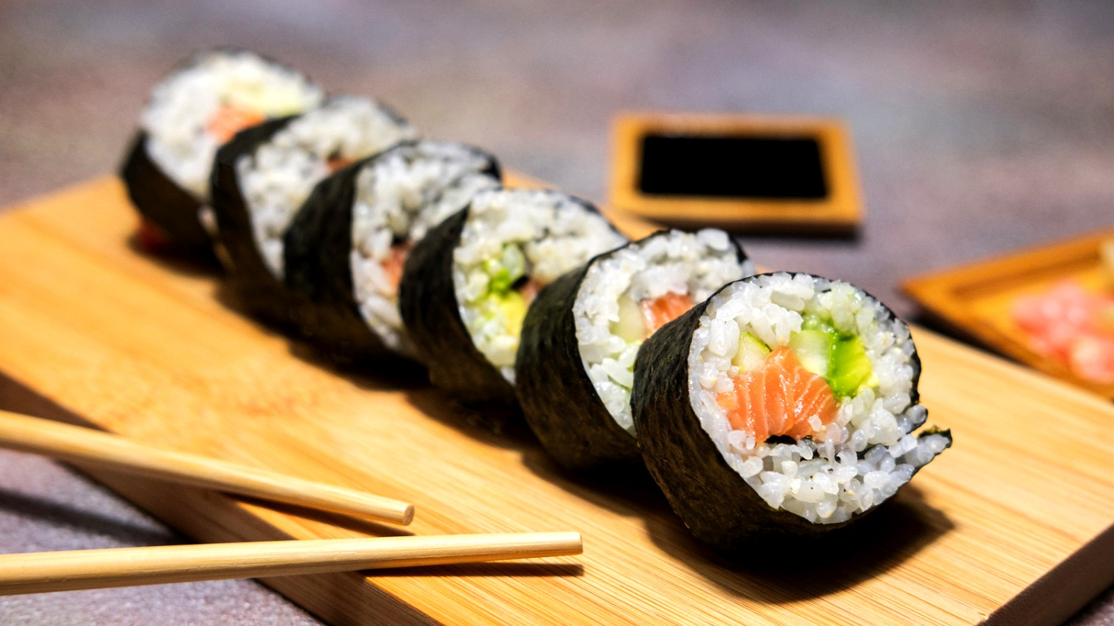 Image of  Maki Sushi Rolls Recept