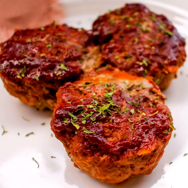 Image of Keto Meatloaf Muffins
