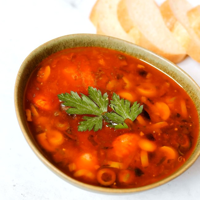 Image of 30-Minute Minestrone Soup