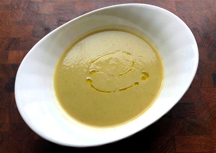 Image of Purée, then adjust salt to your tastes. Can be served...