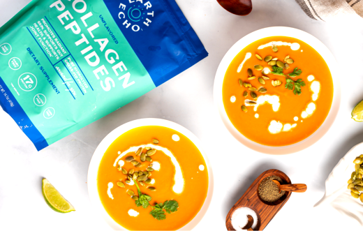 Image of Sweet and Spicy Sweet Potato Soup Recipe
