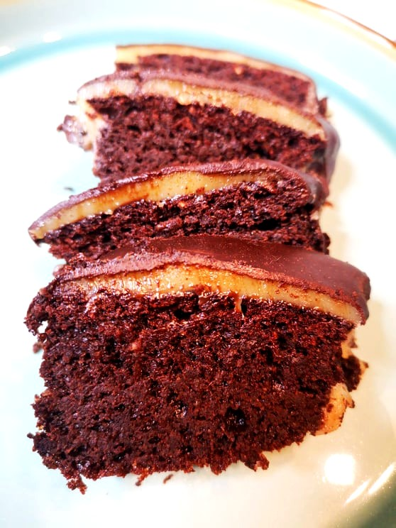 Image of Millionaire's Brownie Cake