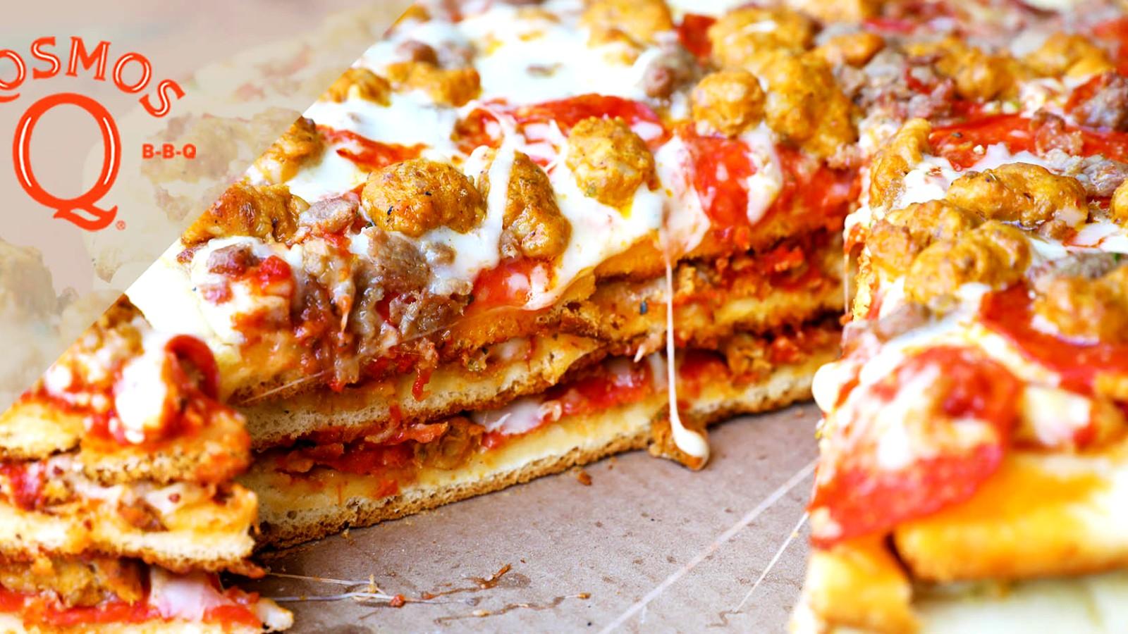 Image of Quick Redneck-Style Smoked Pizza