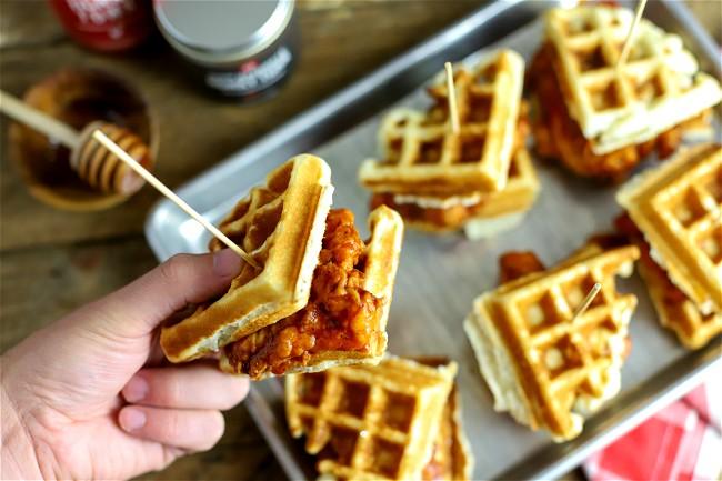 Image of Hot Chicken & Waffle Slider