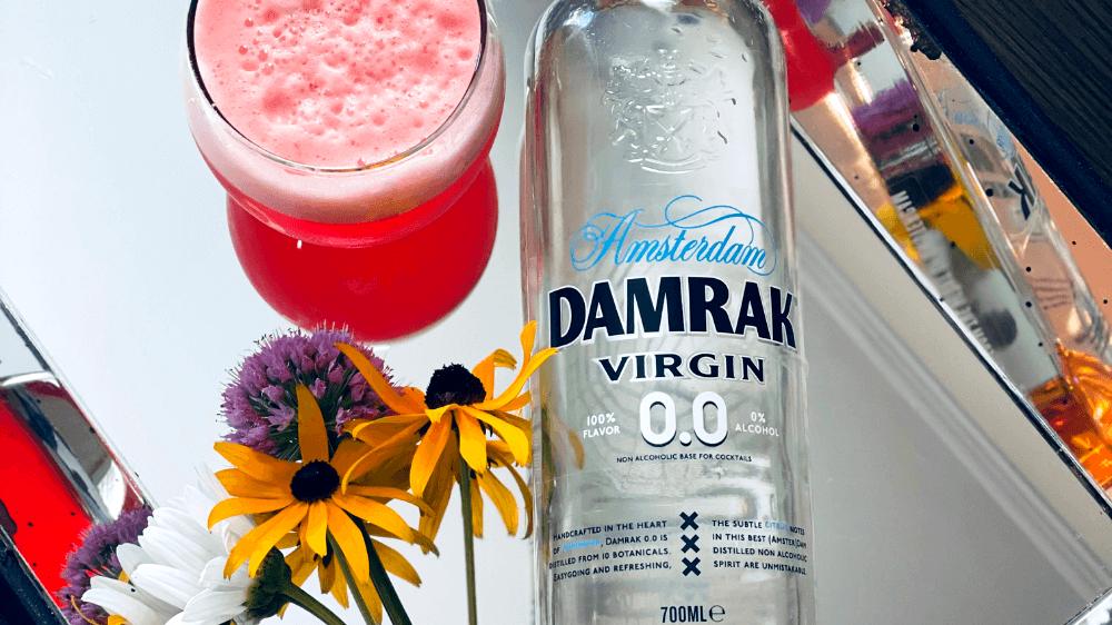 Image of Damrak 0.0 Non-Alcoholic Gin Breakfast Cocktail Recipe