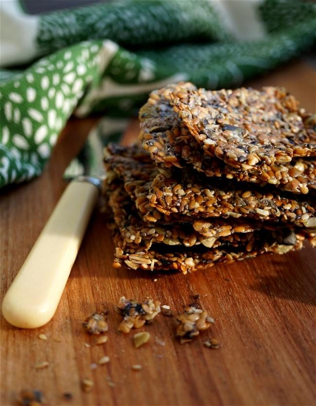 Image ofDulse seed crackers