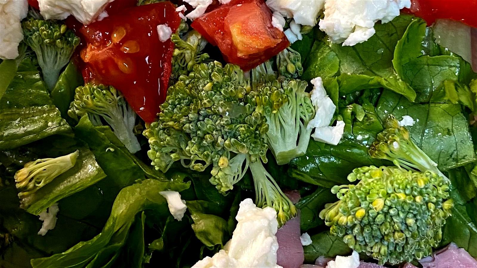 Image of Fresh Cobb Salad - Keto Friendly