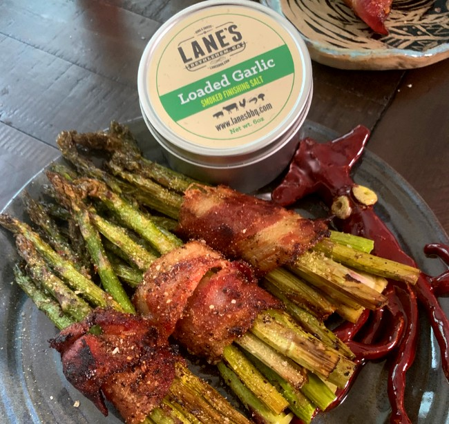 Image of Oven Bacon Wrapped Asparagus