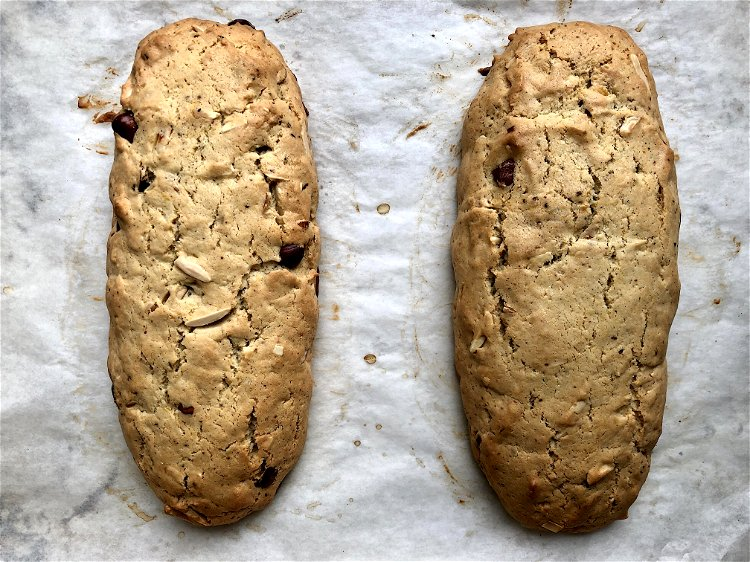 Image of Bake for about 30 minutes, until lightly browned.