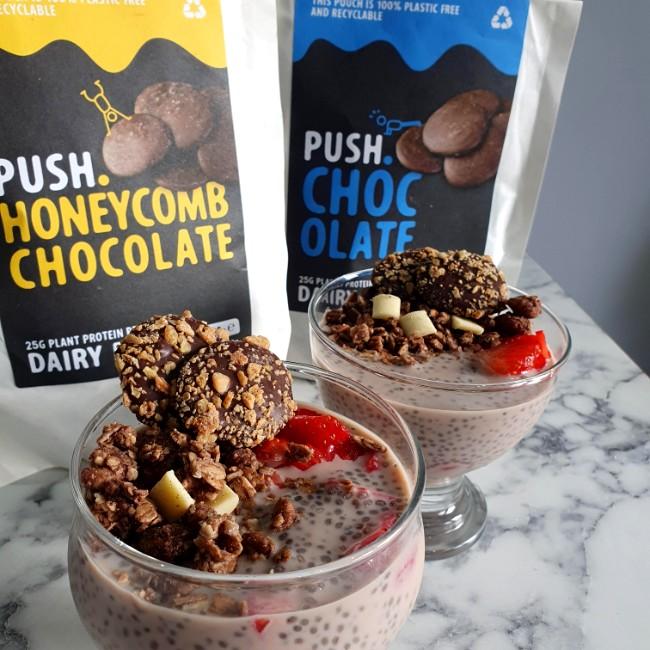 Image of Vegan Chocolate Chai Seed Pudding