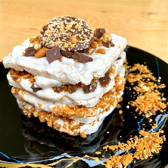 Image of Vegan Chocolate Layered Cheesecake