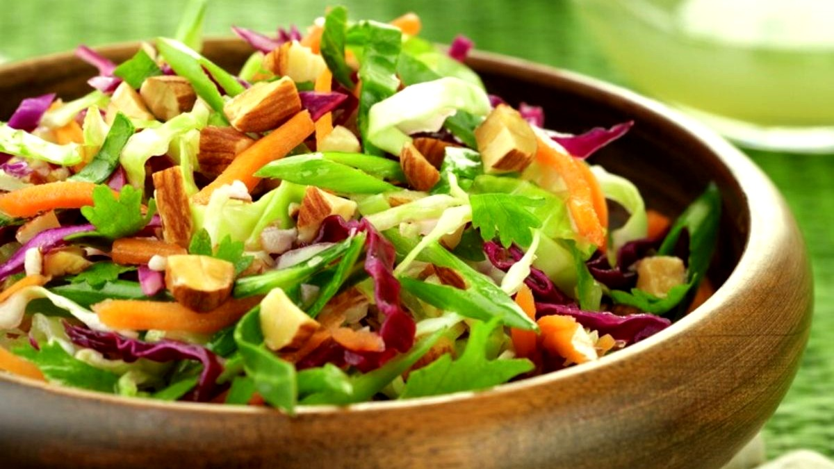 Image of Thai Cabbage Salad with Almonds