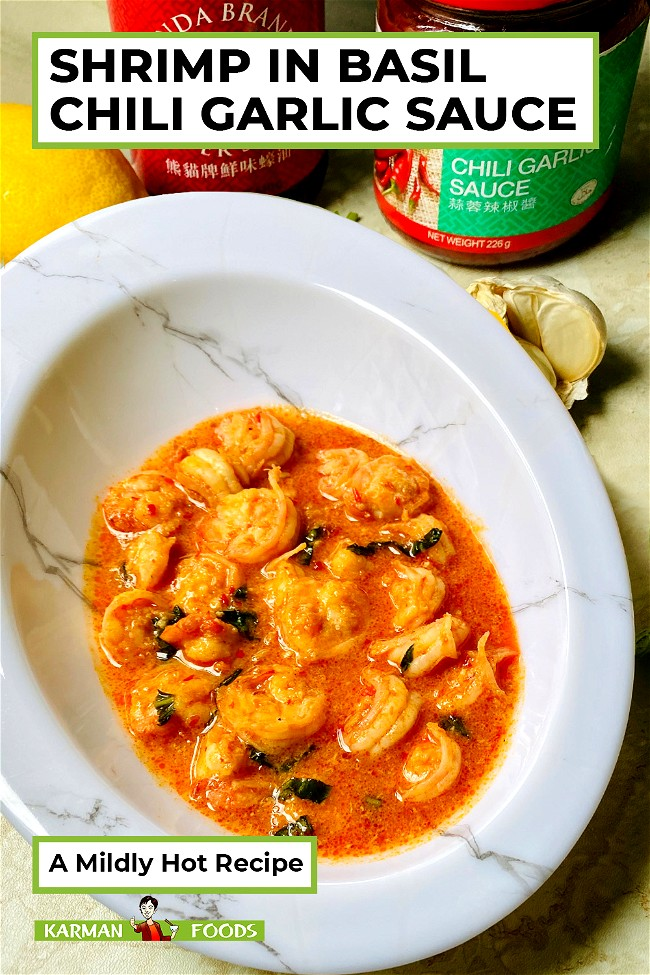 Image of Simple and Spicy Basil Chili Garlic Shrimp