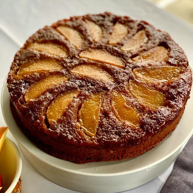 Image of Apple Olive Oil Cake