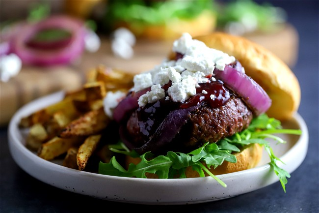 Image of Elk Burger