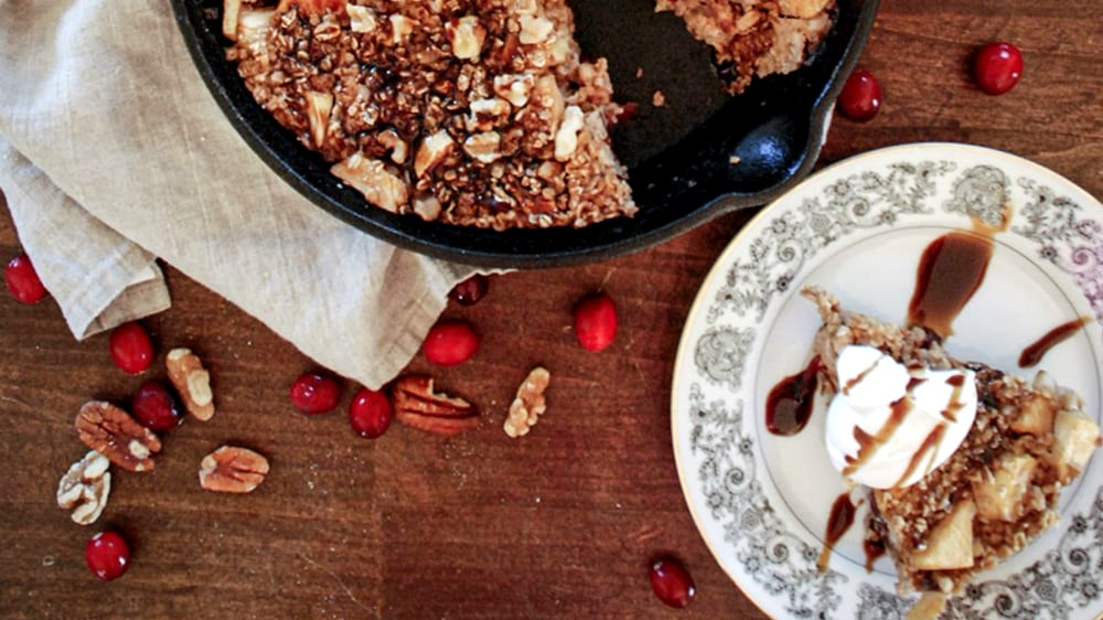 Image of Cranberry Baked Oatmeal