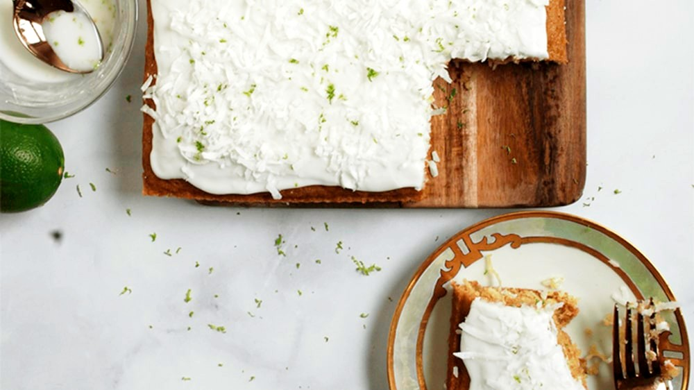 Image of Coconut & Persian Lime Cake