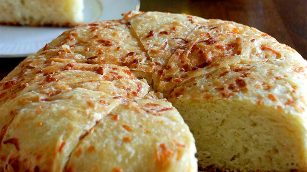 Image of No Knead Cheese Bread
