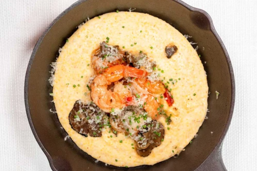 Image of Southern-Style Truffle'd Shrimp and Grits