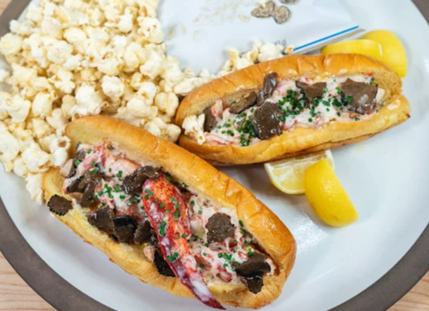 Image of Truffled Maine Lobster Roll and Truffle White Cheddar Kettle Corn