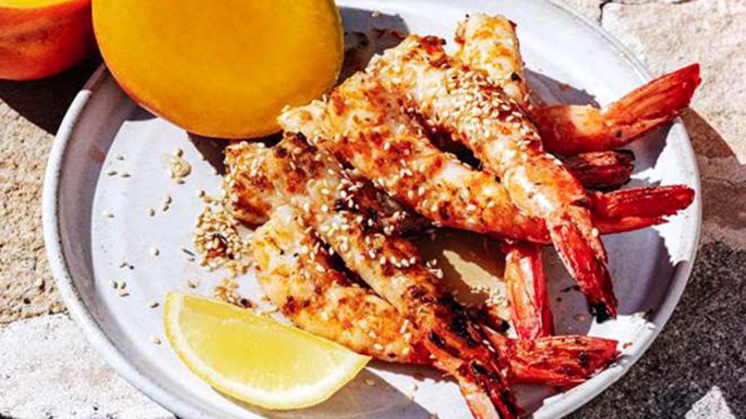 Image of Barbecued Mango Shrimp