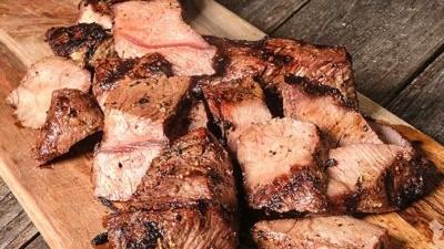 Image of Garlic & Black Pepper Hangar Steak