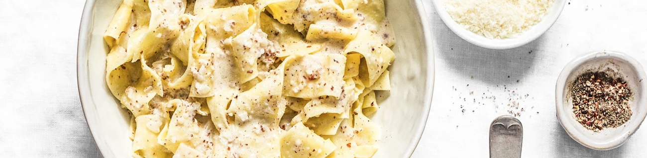 Image of Hand Cut Pappardelle with Pomodoro and Truffles