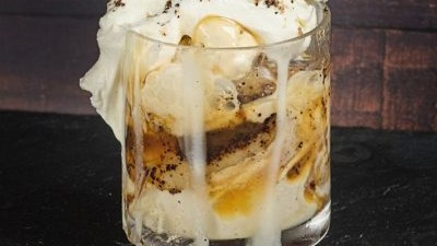 Image of Salted Coffee Bananas Foster Parfait
