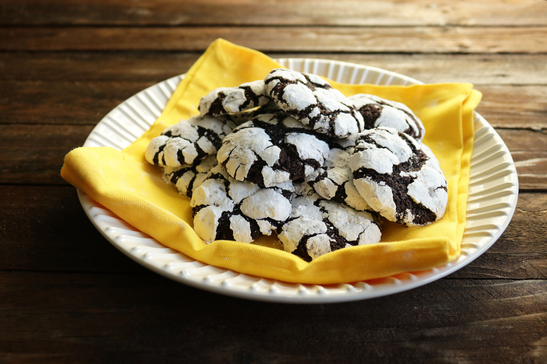 Image of Salted Coffee Chocolate Cookies