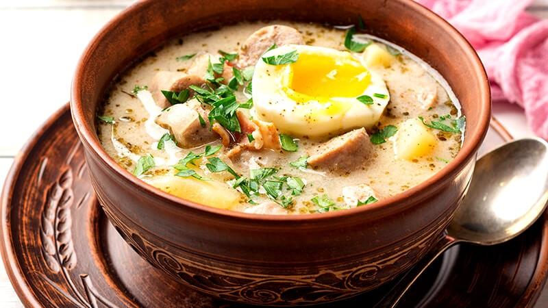 Image of Zurek Polish Easer Soup Recipe