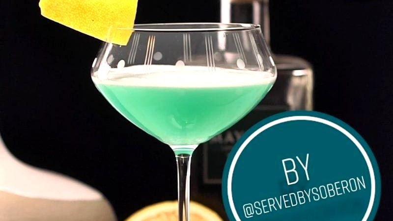 Image of Blue Gin Sour